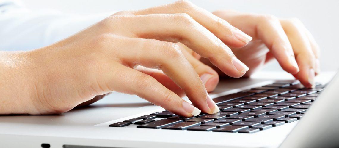 computer hands support